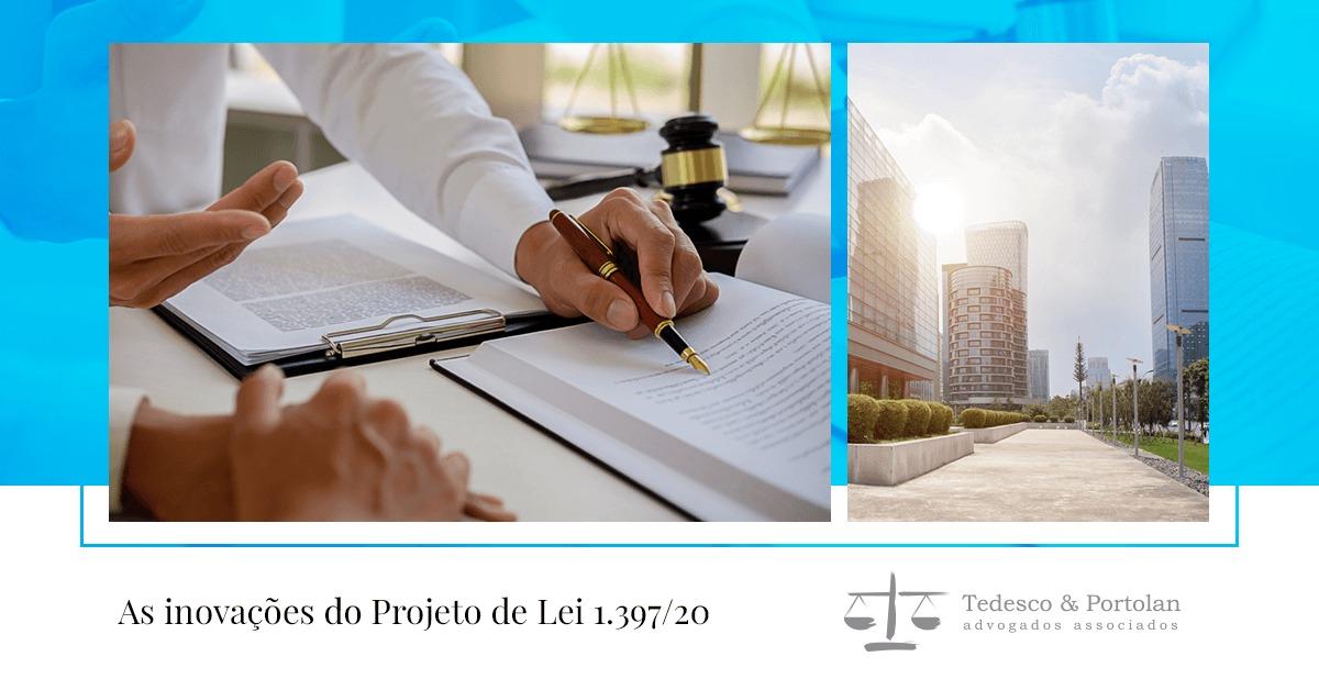 Tedesco e Portolan | Projeto de lei 1.397/20: crédito e descrédito nas recuperações judiciais