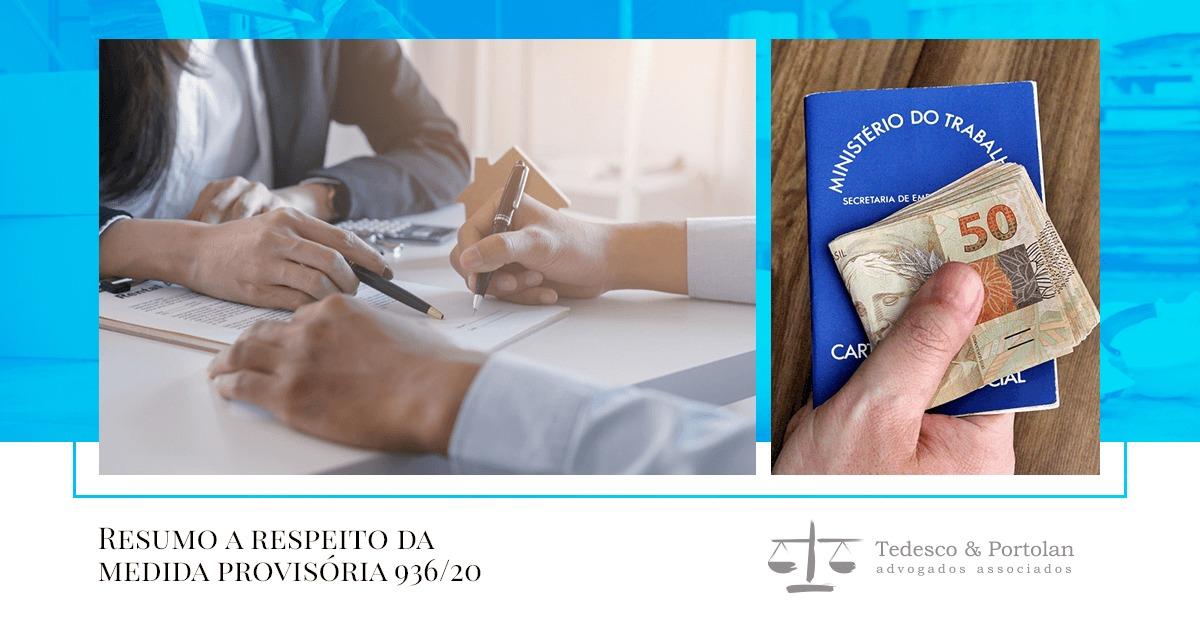 Tedesco e Portolan | MP 936: novas medidas para as empresas enfrentarem a crise do covid-19