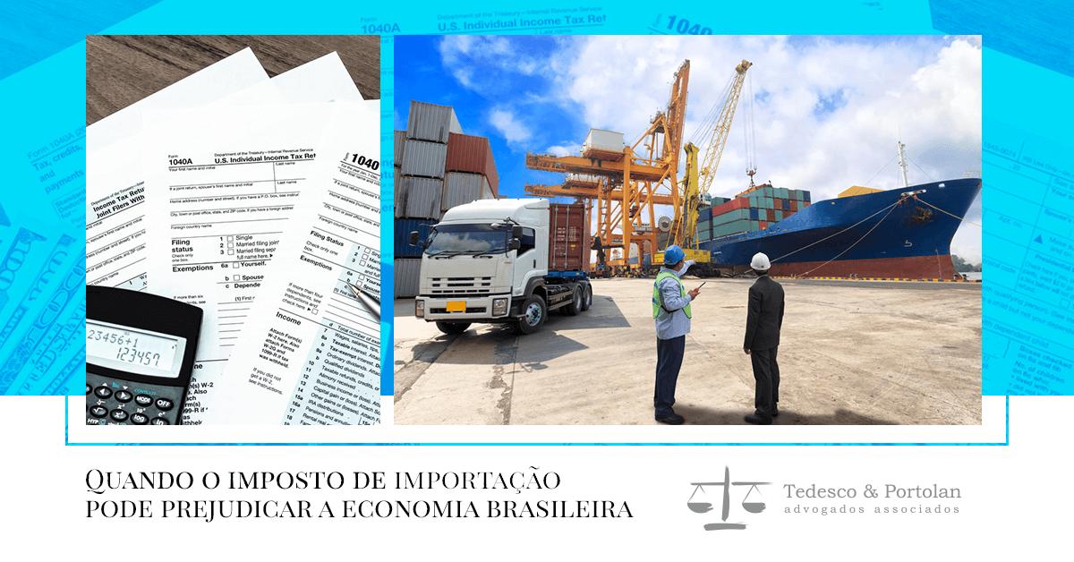 Tedesco e Portolan | A economia e o imposto de importação